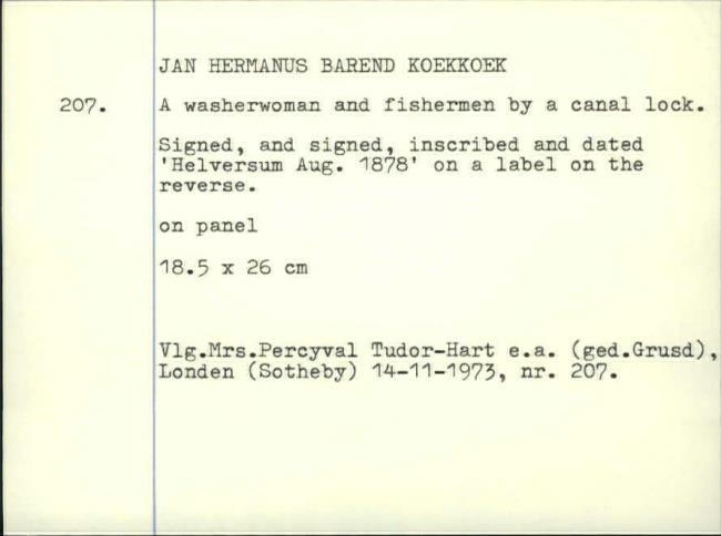 Koekkoek, Johannes Hermanus Barend, box number 328