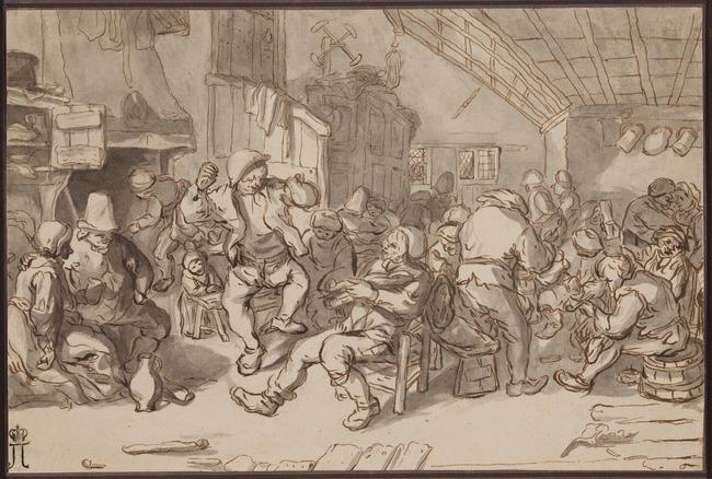 "after <a class=""recordlink artists"" href=""/explore/artists/25070"" title=""Cornelis Dusart""><span class=""text"">Cornelis Dusart</span></a>"