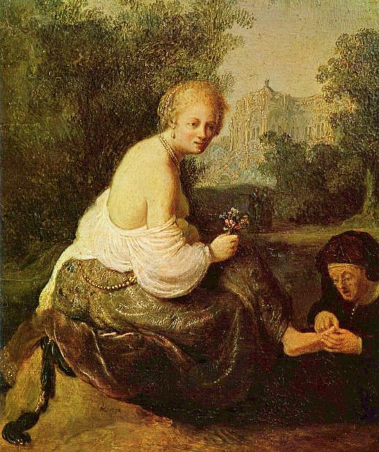 """possibly after <a class=""""recordlink artists"""" href=""""/explore/artists/66219"""" title=""""Rembrandt""""><span class=""""text"""">Rembrandt</span></a>"""