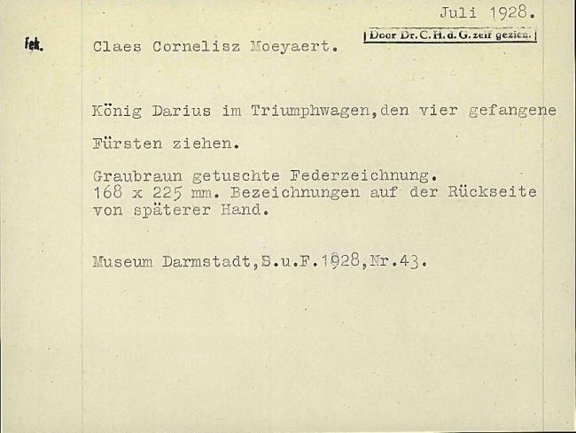Moeyaert, Claes, card number 1327336