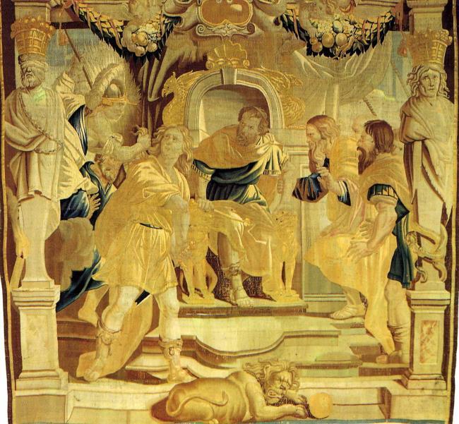 "wandtapijtweverij van <a class=""recordlink artists"" href=""/explore/artists/1984"" title=""Anoniem""><span class=""text"">Anoniem</span></a> na 1635 naar ontwerp van <a class=""recordlink artists"" href=""/explore/artists/68737"" title=""Peter Paul Rubens""><span class=""text"">Peter Paul Rubens</span></a>"