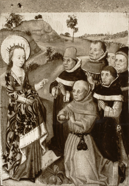 "circle of <a class=""recordlink artists"" href=""/explore/artists/53620"" title=""Master of the Legend of Saint Barbara""><span class=""text"">Master of the Legend of Saint Barbara</span></a>"