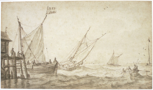 """attributed to <a class=""""recordlink artists"""" href=""""/explore/artists/62354"""" title=""""Bonaventura Peeters (I)""""><span class=""""text"""">Bonaventura Peeters (I)</span></a>"""