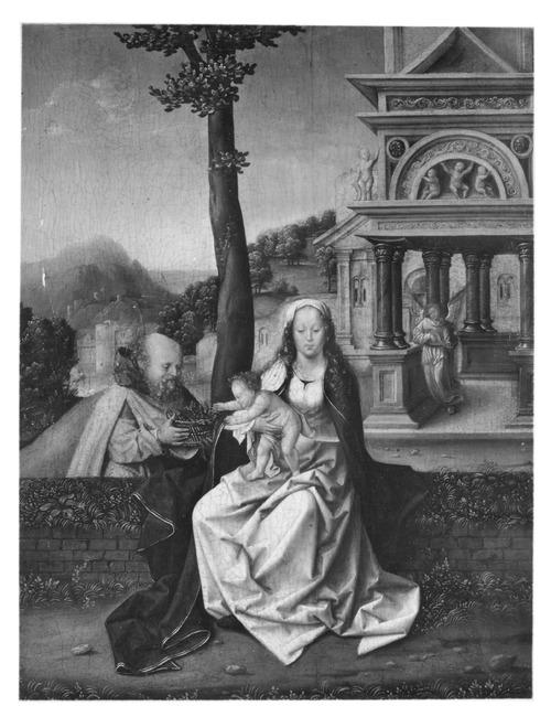 """attributed to <a class=""""recordlink artists"""" href=""""/explore/artists/17952"""" title=""""Cornelis van Coninxloo (I)""""><span class=""""text"""">Cornelis van Coninxloo (I)</span></a> or attributed to <a class=""""recordlink artists"""" href=""""/explore/artists/17959"""" title=""""Jan van Coninxloo (II)""""><span class=""""text"""">Jan van Coninxloo (II)</span></a> <a class=""""recordlink artists"""" href=""""/explore/artists/1984"""" title=""""Anoniem""""><span class=""""text"""">Anoniem</span></a> <a class=""""thesaurus"""" href=""""/en/explore/thesaurus?term=29961&domain=PLAATS"""" title=""""Zuidelijke Nederlanden (historische regio)"""" >Zuidelijke Nederlanden (historische regio)</a> eerste helft 16de eeuw"""