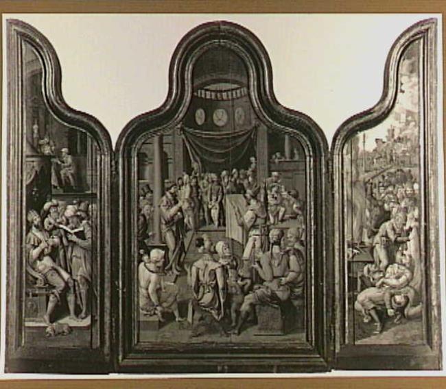 """<a class=""""recordlink artists"""" href=""""/explore/artists/1984"""" title=""""Anoniem""""><span class=""""text"""">Anoniem</span></a> <a class=""""thesaurus"""" href=""""/en/explore/thesaurus?term=29960&domain=PLAATS"""" title=""""Noordelijke Nederlanden (historische regio)"""" >Noordelijke Nederlanden (historische regio)</a> tweede kwart 16de eeuw or <a class=""""recordlink artists"""" href=""""/explore/artists/1984"""" title=""""Anoniem""""><span class=""""text"""">Anoniem</span></a> <a class=""""thesaurus"""" href=""""/en/explore/thesaurus?term=29961&domain=PLAATS"""" title=""""Zuidelijke Nederlanden (historische regio)"""" >Zuidelijke Nederlanden (historische regio)</a> tweede kwart 16de eeuw"""