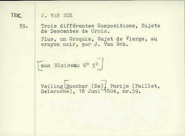 Eyck, Jan van, card number 1145942