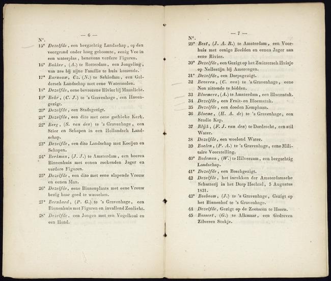 Bernhard, Pieter Gerardus, catalogusnummer 28, 1833, Een Jongen met een Vogelkooi en een Hond