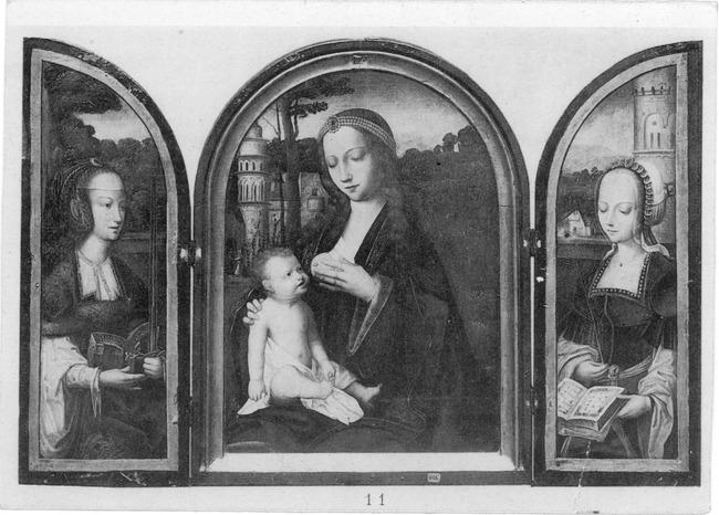 "<a class=""recordlink artists"" href=""/explore/artists/1984"" title=""Anoniem""><span class=""text"">Anoniem</span></a> <a class=""thesaurus"" href=""/en/explore/thesaurus?term=29961&domain=PLAATS"" title=""Zuidelijke Nederlanden (historische regio)"" >Zuidelijke Nederlanden (historische regio)</a> eerste helft 16de eeuw"