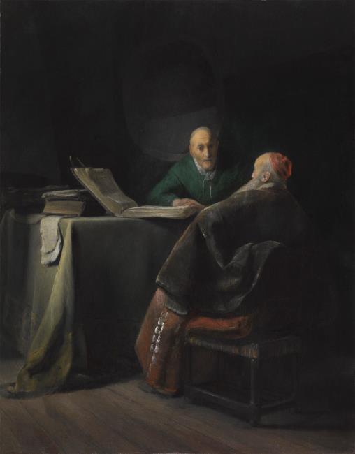 """<a class=""""recordlink artists"""" href=""""/explore/artists/1984"""" title=""""Anoniem""""><span class=""""text"""">Anoniem</span></a> <a class=""""thesaurus"""" href=""""/nl/explore/thesaurus?term=11&domain=PLAATS"""" title=""""Leiden"""" >Leiden</a> ca. 1630 mogelijk <a class=""""recordlink artists"""" href=""""/explore/artists/50003"""" title=""""Jan Lievens""""><span class=""""text"""">Jan Lievens</span></a> of omgeving van <a class=""""recordlink artists"""" href=""""/explore/artists/66219"""" title=""""Rembrandt""""><span class=""""text"""">Rembrandt</span></a> of omgeving van <a class=""""recordlink artists"""" href=""""/explore/artists/50003"""" title=""""Jan Lievens""""><span class=""""text"""">Jan Lievens</span></a>"""