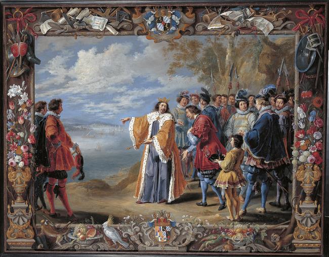 """<a class=""""recordlink artists"""" href=""""/explore/artists/37869"""" title=""""Willem van Herp (I)""""><span class=""""text"""">Willem van Herp (I)</span></a> en <a class=""""recordlink artists"""" href=""""/explore/artists/44093"""" title=""""Jan van Kessel (I)""""><span class=""""text"""">Jan van Kessel (I)</span></a>"""