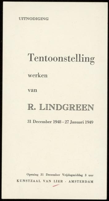 Lindgreen, Ronald, inventarisnummer 00794.001, 1948-12-31
