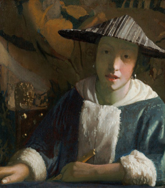 "attributed to <a class=""recordlink artists"" href=""/explore/artists/80476"" title=""Johannes Vermeer""><span class=""text"">Johannes Vermeer</span></a>"