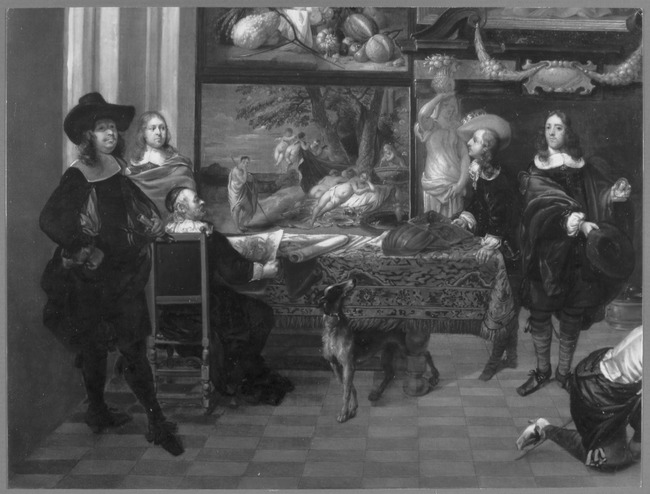 "<a class=""recordlink artists"" href=""/explore/artists/367161"" title=""Jacob de Formentrou""><span class=""text"">Jacob de Formentrou</span></a> en <a class=""recordlink artists"" href=""/explore/artists/32967"" title=""Anton Goubau""><span class=""text"">Anton Goubau</span></a> en <a class=""recordlink artists"" href=""/explore/artists/36842"" title=""Jan Davidsz. de Heem""><span class=""text"">Jan Davidsz. de Heem</span></a> en <a class=""recordlink artists"" href=""/explore/artists/65222"" title=""Erasmus Quellinus (II)""><span class=""text"">Erasmus Quellinus (II)</span></a> en <a class=""recordlink artists"" href=""/explore/artists/73908"" title=""Joris van Son""><span class=""text"">Joris van Son</span></a> en <a class=""recordlink artists"" href=""/explore/artists/59042"" title=""Pieter Neefs (I)""><span class=""text"">Pieter Neefs (I)</span></a> of <a class=""recordlink artists"" href=""/explore/artists/59043"" title=""Pieter Neefs (II)""><span class=""text"">Pieter Neefs (II)</span></a> en <a class=""recordlink artists"" href=""/explore/artists/62372"" title=""Jan Peeters (I)""><span class=""text"">Jan Peeters (I)</span></a> en <a class=""recordlink artists"" href=""/explore/artists/1798"" title=""Hendrick Andriessen""><span class=""text"">Hendrick Andriessen</span></a> en mogelijk <a class=""recordlink artists"" href=""/explore/artists/256322"" title=""Peter de Witte (II)""><span class=""text"">Peter de Witte (II)</span></a> en <a class=""recordlink artists"" href=""/explore/artists/44093"" title=""Jan van Kessel (I)""><span class=""text"">Jan van Kessel (I)</span></a> en <a class=""recordlink artists"" href=""/explore/artists/9645"" title=""Peeter Boel""><span class=""text"">Peeter Boel</span></a> en <a class=""recordlink artists"" href=""/explore/artists/26962"" title=""Nicolaas van Eyck (I)""><span class=""text"">Nicolaas van Eyck (I)</span></a> en <a class=""recordlink artists"" href=""/explore/artists/85184"" title=""Gaspar de Witte""><span class=""text"">Gaspar de Witte</span></a> en <a class=""recordlink artists"" href=""/explore/artists/1984"" title=""Anoniem"">"
