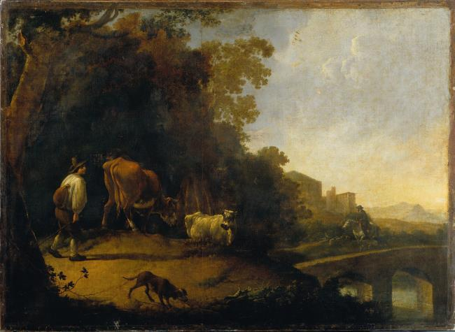 """attributed to <a class=""""recordlink artists"""" href=""""/explore/artists/73946"""" title=""""Jan Frans Soolmaker""""><span class=""""text"""">Jan Frans Soolmaker</span></a>"""