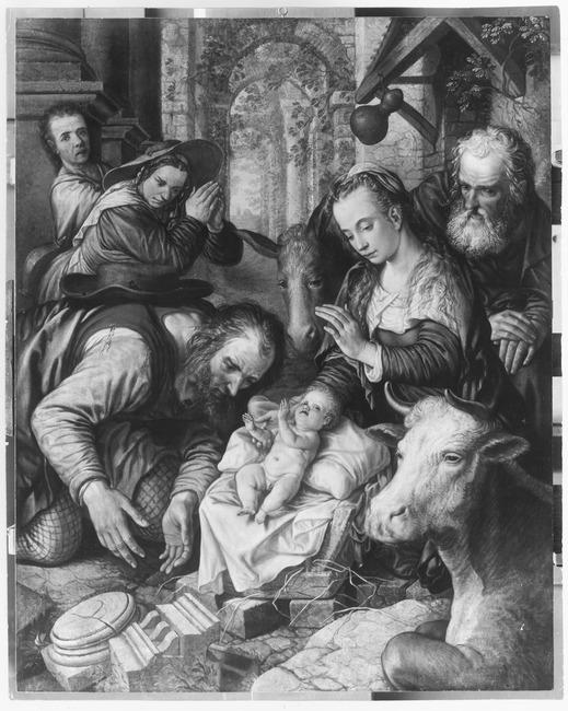 """<a class=""""recordlink artists"""" href=""""/explore/artists/605"""" title=""""Pieter Aertsen""""><span class=""""text"""">Pieter Aertsen</span></a> of toegeschreven aan <a class=""""recordlink artists"""" href=""""/explore/artists/7836"""" title=""""Joachim Beuckelaer""""><span class=""""text"""">Joachim Beuckelaer</span></a>"""