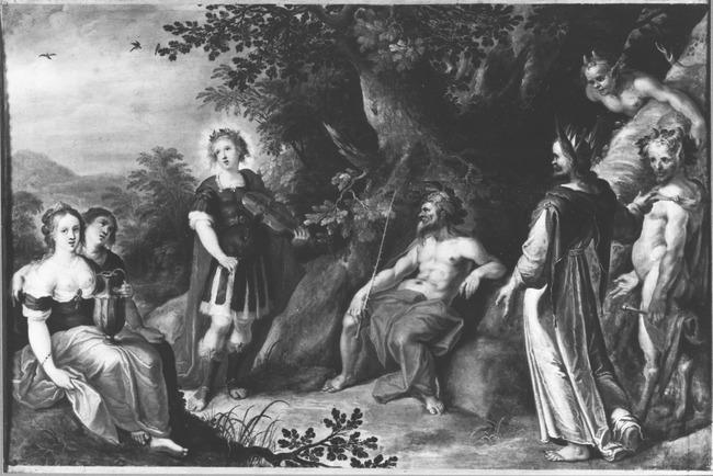 "<a class=""recordlink artists"" href=""/explore/artists/29002"" title=""Frans Francken (II)""><span class=""text"">Frans Francken (II)</span></a> and <a class=""recordlink artists"" href=""/explore/artists/33074"" title=""Abraham Govaerts""><span class=""text"">Abraham Govaerts</span></a>"