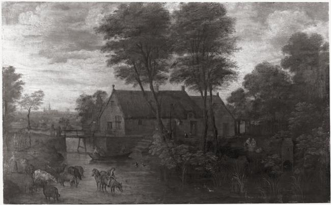 "follower of <a class=""recordlink artists"" href=""/explore/artists/13288"" title=""Jan Brueghel (I)""><span class=""text"">Jan Brueghel (I)</span></a>"