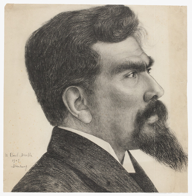 Portrati of Jan Toorp (1858-1928)