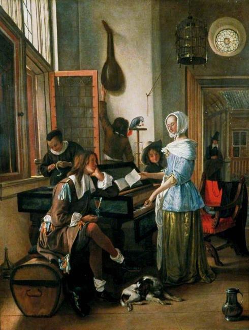"""(naar?) <a class=""""recordlink artists"""" href=""""/explore/artists/74809"""" title=""""Jan Steen""""><span class=""""text"""">Jan Steen</span></a>"""
