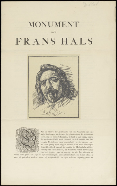 Hals, Frans (I), inventarisnummer 30098.001, 1800
