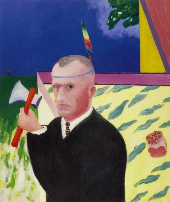 Portret van de schrijver Willem Frederik Hermans (1921-1995)