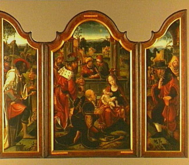 "circle of <a class=""recordlink artists"" href=""/explore/artists/17468"" title=""Pieter Coecke van Aelst (I)""><span class=""text"">Pieter Coecke van Aelst (I)</span></a> or <a class=""recordlink artists"" href=""/explore/artists/111986"" title=""Meester van de Utrechtse Aanbidding""><span class=""text"">Meester van de Utrechtse Aanbidding</span></a>"