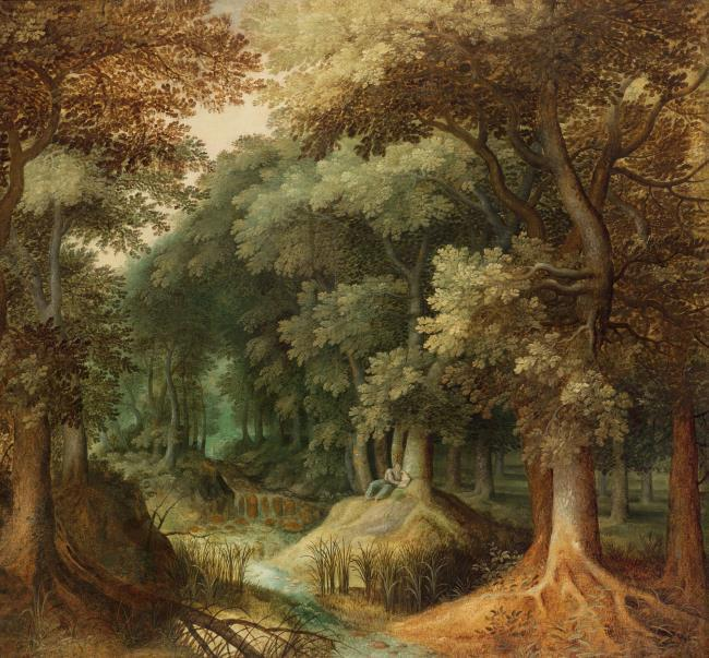"follower of <a class=""recordlink artists"" href=""/explore/artists/17954"" title=""Gillis van Coninxloo (II)""><span class=""text"">Gillis van Coninxloo (II)</span></a>"