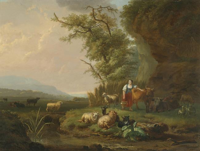"""<a class=""""recordlink artists"""" href=""""/explore/artists/11024"""" title=""""Jan Hendrick van den Bosch""""><span class=""""text"""">Jan Hendrick van den Bosch</span></a> and <a class=""""recordlink artists"""" href=""""/explore/artists/60553"""" title=""""Balthasar Paul Ommeganck""""><span class=""""text"""">Balthasar Paul Ommeganck</span></a>"""