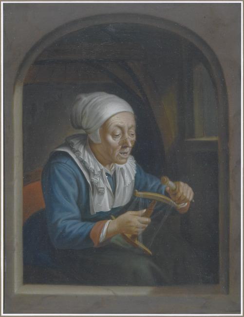 "<a class=""recordlink artists"" href=""/explore/artists/23937"" title=""Johann Jacob Dorner (I)""><span class=""text"">Johann Jacob Dorner (I)</span></a> after <a class=""recordlink artists"" href=""/explore/artists/23986"" title=""Gerard Dou""><span class=""text"">Gerard Dou</span></a>"