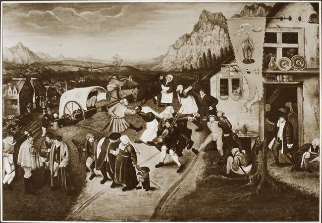 "trant/naar <a class=""recordlink artists"" href=""/explore/artists/13293"" title=""Pieter Brueghel (II)""><span class=""text"">Pieter Brueghel (II)</span></a>"