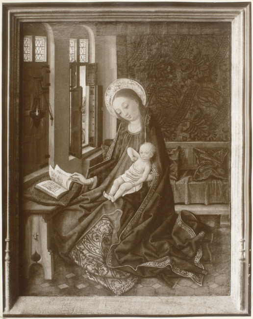 "toegeschreven aan <a class=""recordlink artists"" href=""/explore/artists/53620"" title=""Master of the Legend of Saint Barbara""><span class=""text"">Master of the Legend of Saint Barbara</span></a>"