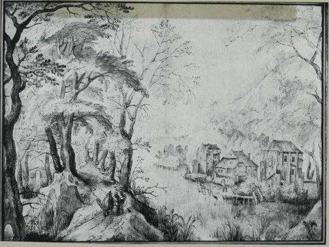 """omgeving van <a class=""""recordlink artists"""" href=""""/explore/artists/17954"""" title=""""Gillis van Coninxloo (II)""""><span class=""""text"""">Gillis van Coninxloo (II)</span></a>"""