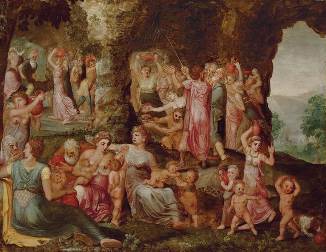 "circle of <a class=""recordlink artists"" href=""/explore/artists/28385"" title=""Frans Floris (I)""><span class=""text"">Frans Floris (I)</span></a>"