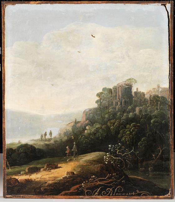 "<a class=""recordlink artists"" href=""/explore/artists/113968"" title=""Abraham Blommaert""><span class=""text"">Abraham Blommaert</span></a>"