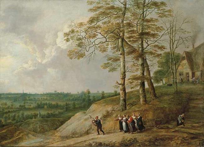 "<a class=""recordlink artists"" href=""/explore/artists/76786"" title=""David Teniers (II)""><span class=""text"">David Teniers (II)</span></a> en <a class=""recordlink artists"" href=""/explore/artists/78659"" title=""Lucas van Uden""><span class=""text"">Lucas van Uden</span></a>"