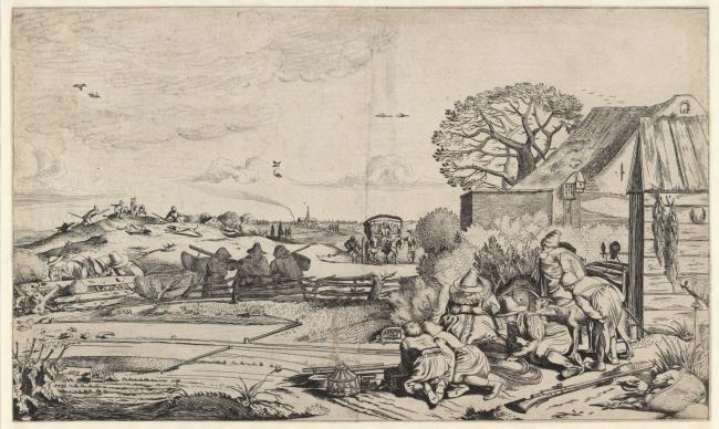 "<a class=""recordlink artists"" href=""/explore/artists/79783"" title=""Jan van de Velde (II)""><span class=""text"">Jan van de Velde (II)</span></a> naar <a class=""recordlink artists"" href=""/explore/artists/14584"" title=""Willem Pietersz. Buytewech""><span class=""text"">Willem Pietersz. Buytewech</span></a>"