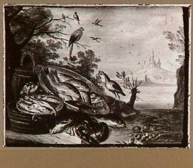 """toegeschreven aan <a class=""""recordlink artists"""" href=""""/explore/artists/44093"""" title=""""Jan van Kessel (I)""""><span class=""""text"""">Jan van Kessel (I)</span></a>"""