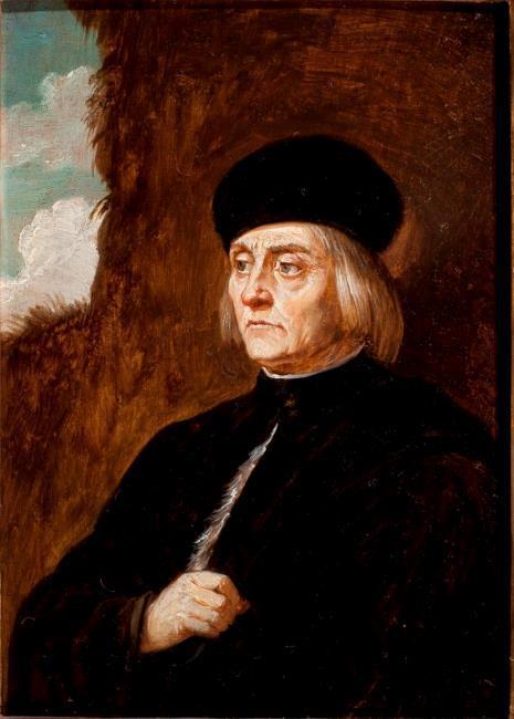 "<a class=""recordlink artists"" href=""/explore/artists/76786"" title=""David Teniers (II)""><span class=""text"">David Teniers (II)</span></a> after <a class=""recordlink artists"" href=""/explore/artists/61600"" title=""Jacopo Palma (il Vecchio)""><span class=""text"">Jacopo Palma (il Vecchio)</span></a>"