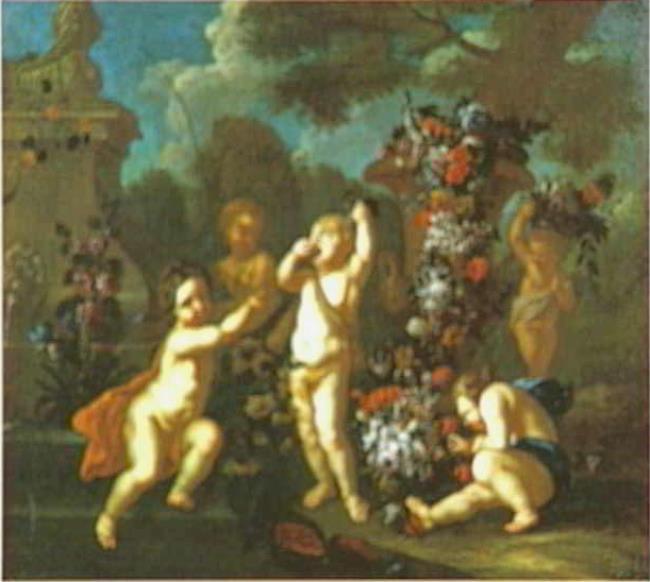 "toegeschreven aan <a class=""recordlink artists"" href=""/explore/artists/37726"" title=""Jacob Melchior van Herck""><span class=""text"">Jacob Melchior van Herck</span></a> <a class=""recordlink artists"" href=""/explore/artists/116353"" title=""François Liberti""><span class=""text"">François Liberti</span></a>"