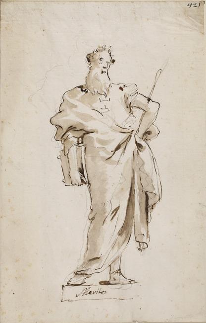 "attributed to <a class=""recordlink artists"" href=""/explore/artists/77454"" title=""Giovanni Domenico Tiepolo""><span class=""text"">Giovanni Domenico Tiepolo</span></a>"