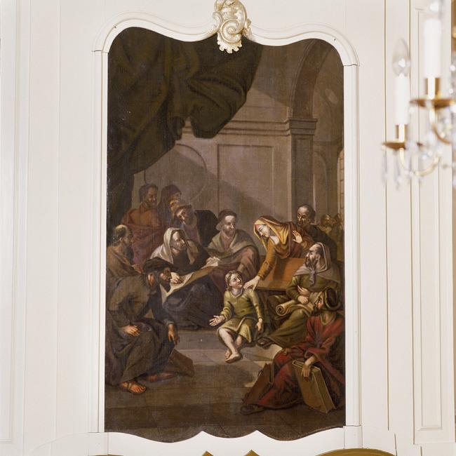 Arnold Houbraken engraved portrait of Adriaen van Ostade