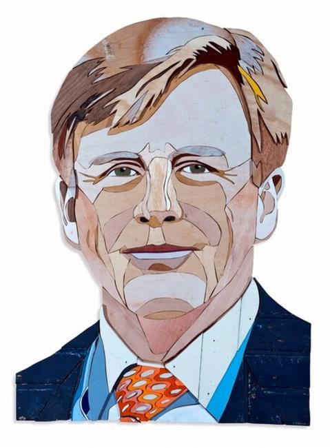 Portret van koning Willem-Alexander (1967-)