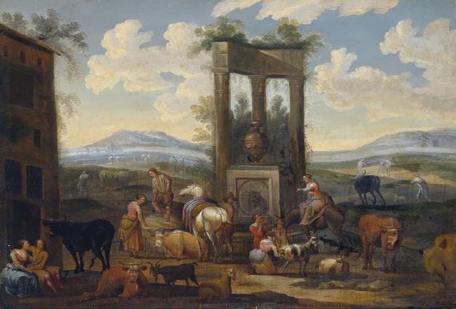"omgeving van <a class=""recordlink artists"" href=""/explore/artists/6727"" title=""Nicolaes Berchem""><span class=""text"">Nicolaes Berchem</span></a>"