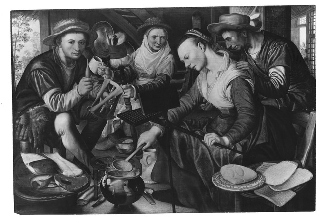 "possibly <a class=""recordlink artists"" href=""/explore/artists/605"" title=""Pieter Aertsen""><span class=""text"">Pieter Aertsen</span></a>"