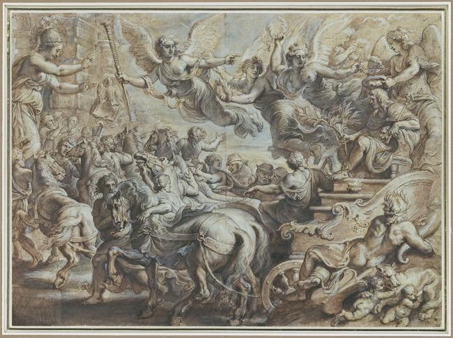 "<a class=""recordlink artists"" href=""/explore/artists/68737"" title=""Peter Paul Rubens""><span class=""text"">Peter Paul Rubens</span></a> naar <a class=""recordlink artists"" href=""/explore/artists/32026"" title=""Giulio Romano""><span class=""text"">Giulio Romano</span></a>"