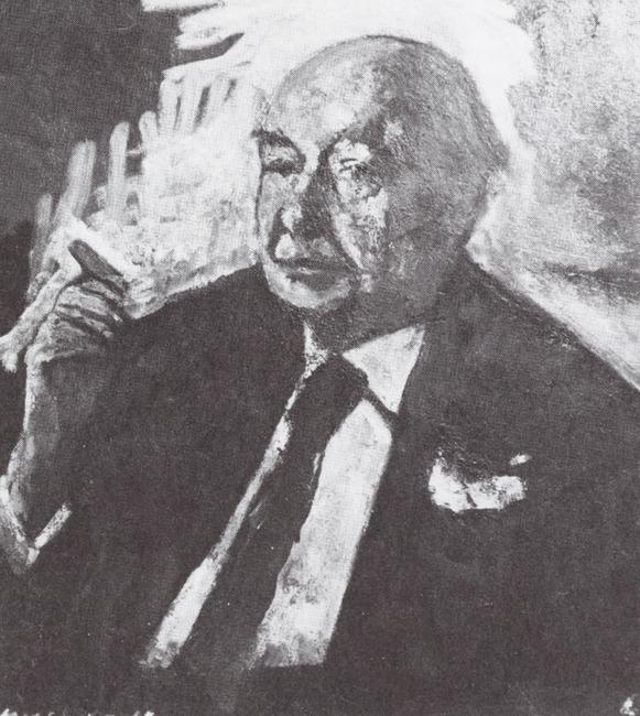 Portret van Albertus Wilhelmus van Dalsum (1889-1971)