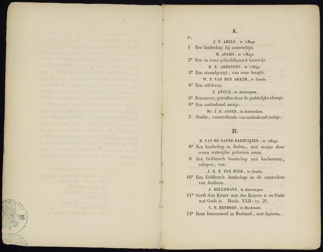 Bernhard, Pieter Gerardus, catalogusnummer 16, Een dito