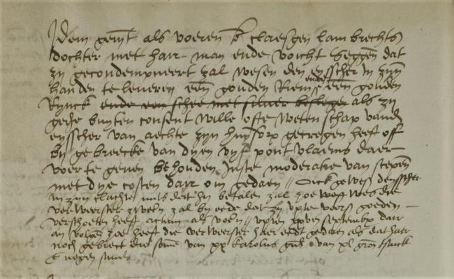 Leiden, 1553-09-15, Schepenbank (Oud Rechterlijk Archief), nummer toegang 0508, inv. no. 42+28 (Wedboek 1553-1554)