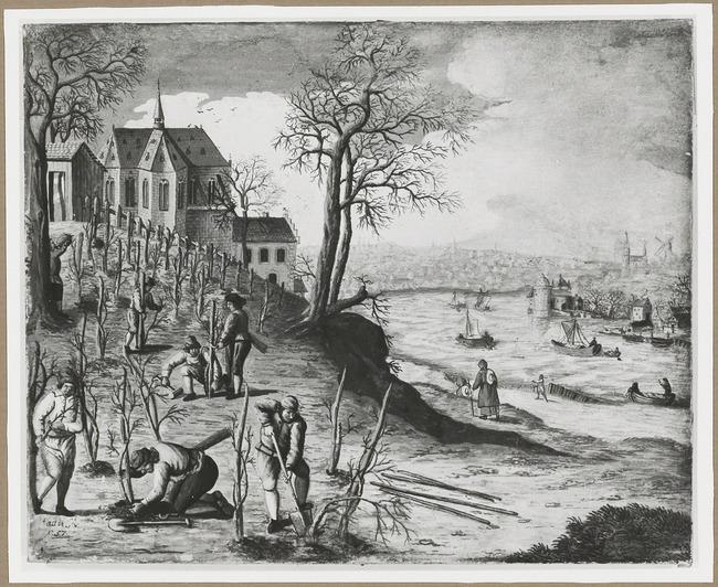 """<a class=""""recordlink artists"""" href=""""/explore/artists/1984"""" title=""""Anoniem""""><span class=""""text"""">Anoniem</span></a> <a class=""""thesaurus"""" href=""""/en/explore/thesaurus?term=29961&domain=PLAATS"""" title=""""Zuidelijke Nederlanden (historische regio)"""" >Zuidelijke Nederlanden (historische regio)</a> 1757 gedateerd after <a class=""""recordlink artists"""" href=""""/explore/artists/10081"""" title=""""Hans Bol""""><span class=""""text"""">Hans Bol</span></a>"""