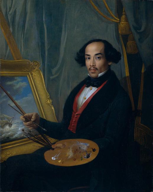 "toegeschreven aan <a class=""recordlink artists"" href=""/explore/artists/69357"" title=""Raden Sarief Bastaman Saleh""><span class=""text"">Raden Sarief Bastaman Saleh</span></a>"